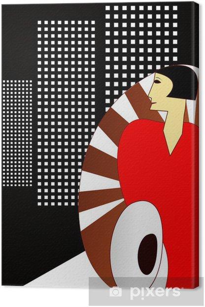 Art Deco 1930s print