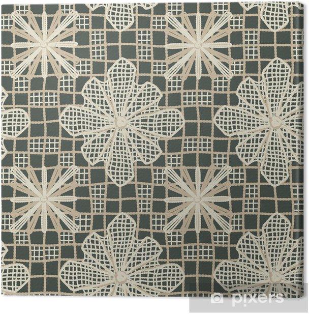 Artesanato Brasileiro Canvas Print - Textures