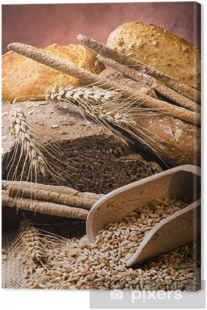 assortimento di pane integrale Canvas Print - Themes