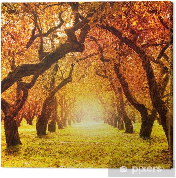 Autumn. Fall. Autumnal Park Canvas Print - Themes