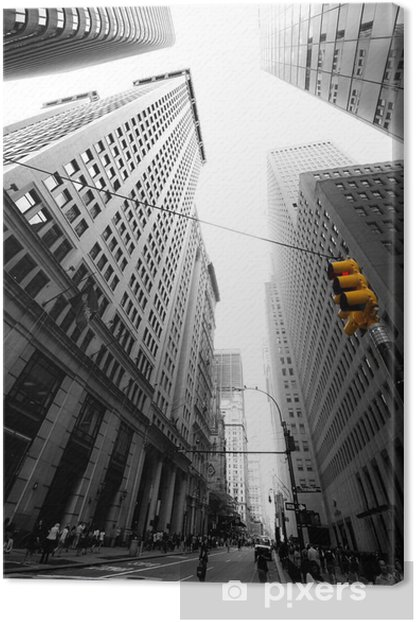 avenue new yorkaise Canvas Print -