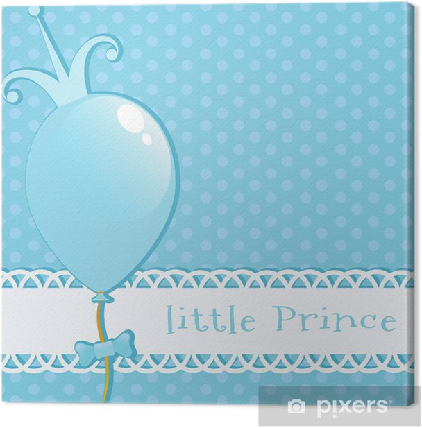Background Little Prince Canvas Print - Backgrounds