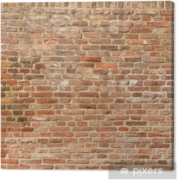 Background of brick wall texture Canvas Print - iStaging