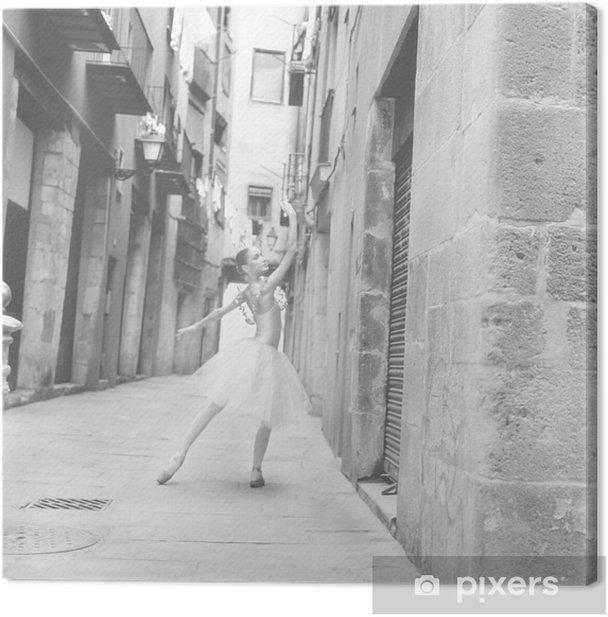 bailarina 6 Canvas Print - Themes
