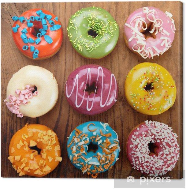 baked doughnuts Canvas Print - Themes