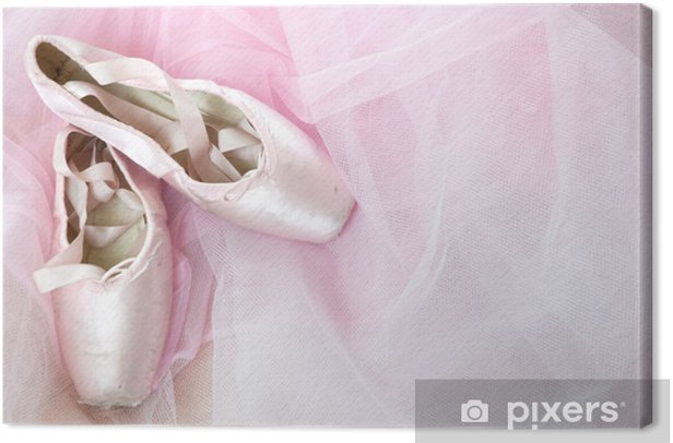 ballerina dreams Canvas Print - Fashion