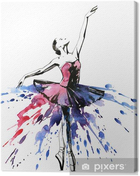 ballerina Canvas Print - iStaging