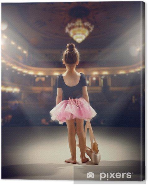 ballerina Canvas Print - Success and Achievement