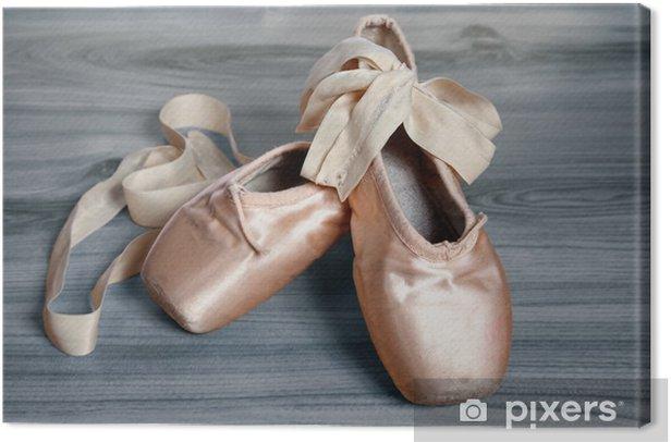 ballet shoes Canvas Print - Lifestyle