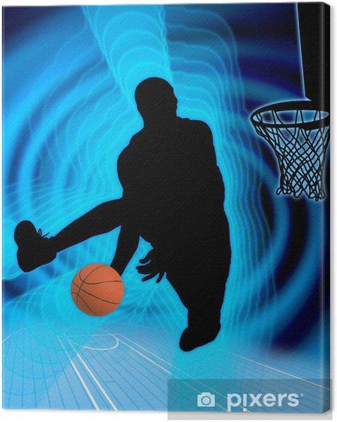 basketball art 4 Canvas Print - Basketball