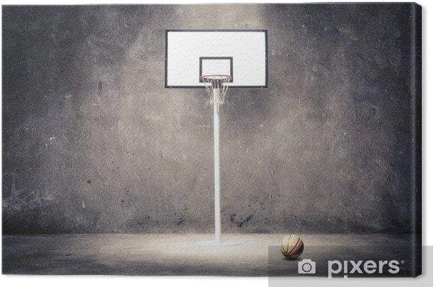 basketball hoop Canvas Print - Basketball