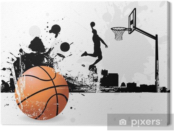 Basketball player Canvas Print - Basketball