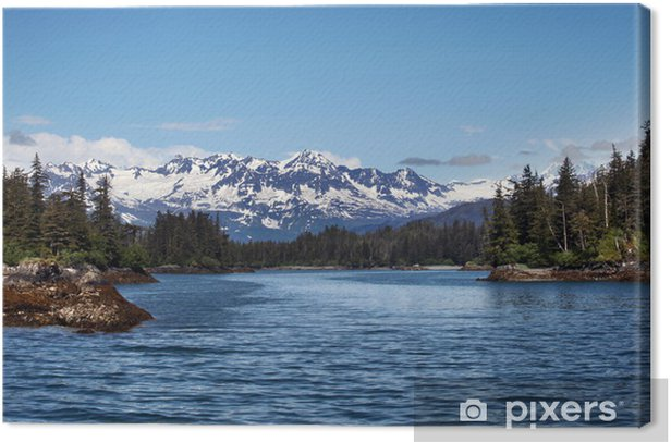 Beautiful Alaska Canvas Print - America