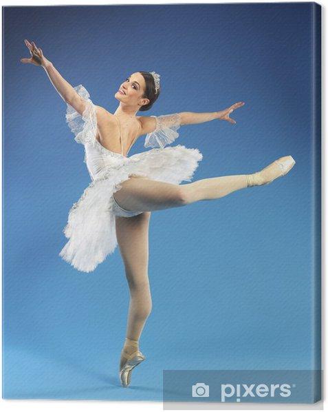 Beautiful ballerina Canvas Print - Professions