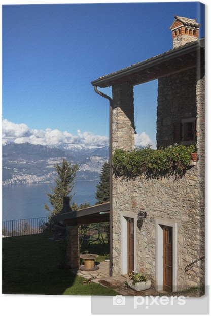 Bed and breakfasta panoramico Canvas Print - Holidays