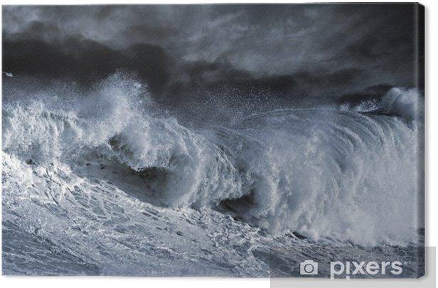 Big Atantic wave Canvas Print - Themes