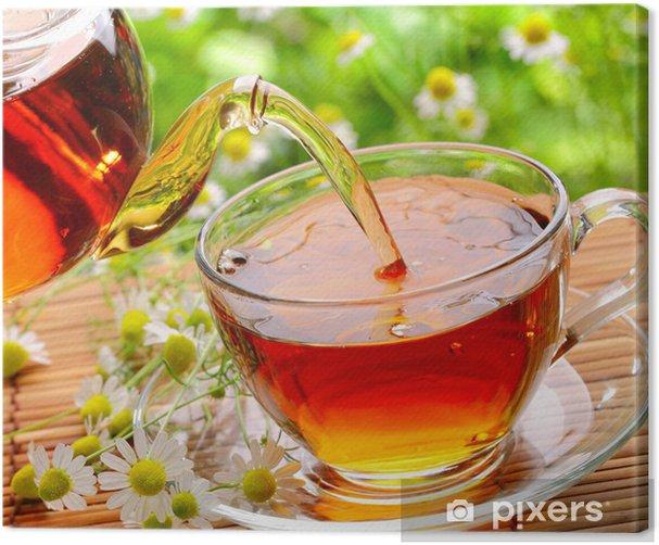 Black tea Canvas Print - Hot Drinks