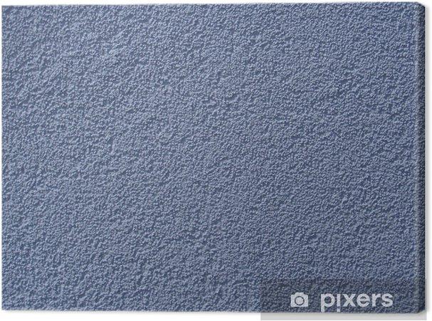 Blaue Wand Hauswand Streichen Rigips Putz Estrich Wand Canvas