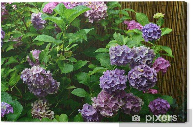 Blautöne Canvas Print - Flowers