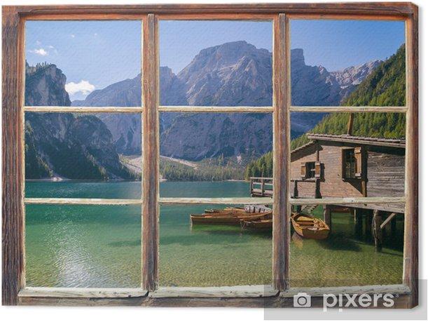 Blick aus dem Fenster Canvas Print - Themes