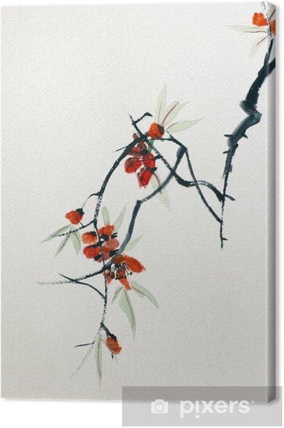 Blooming Sakura Canvas Print - Hobbies and Leisure