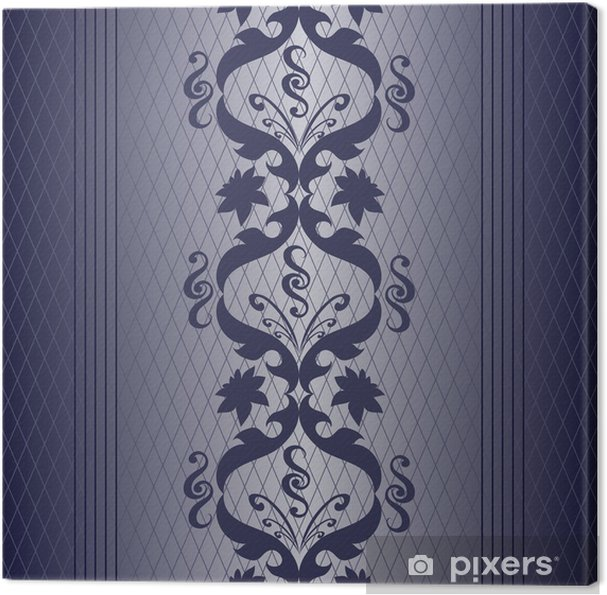 blue silver Canvas Print - Backgrounds