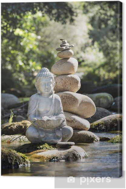 Bouddha et Bien-être Canvas Print - Themes