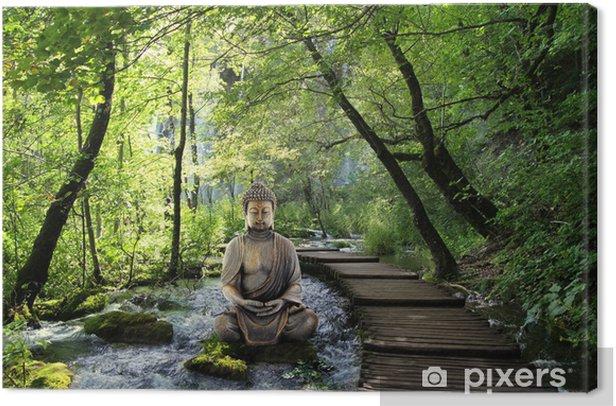 Bouddha et Serenite Canvas Print - Themes