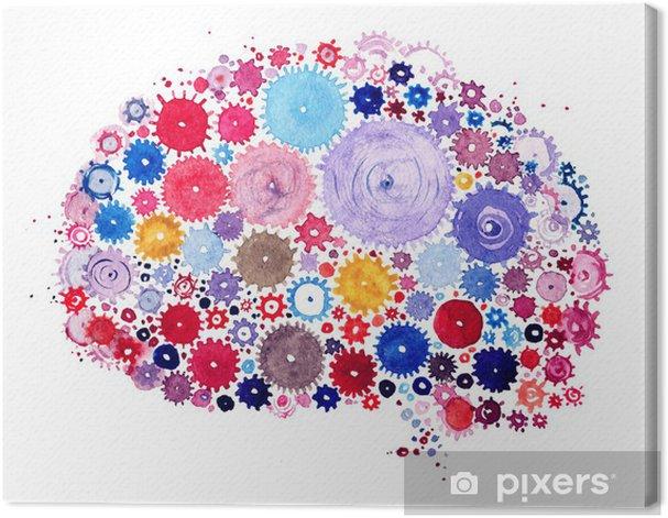 brain Canvas Print - Other Feelings
