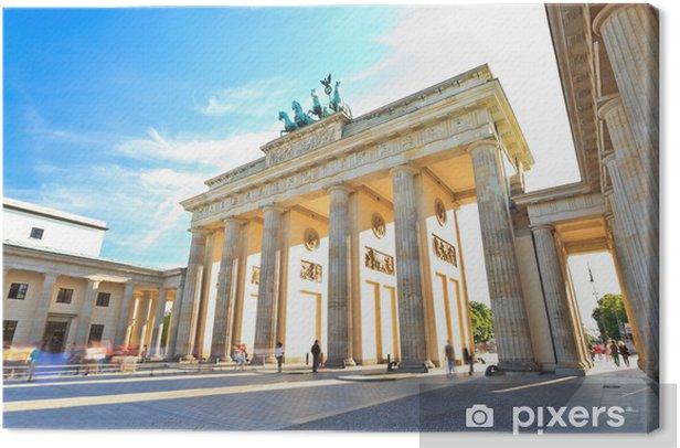 Brandenburg gate of Berlin, Germany Canvas Print - Germany