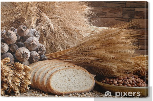 bread Canvas Print - iStaging