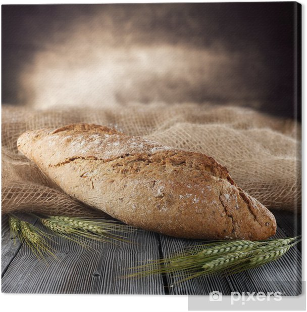 bread Canvas Print - Themes