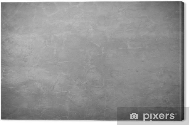 Brick stone gray concrete wall background rough texture Canvas Print - Themes