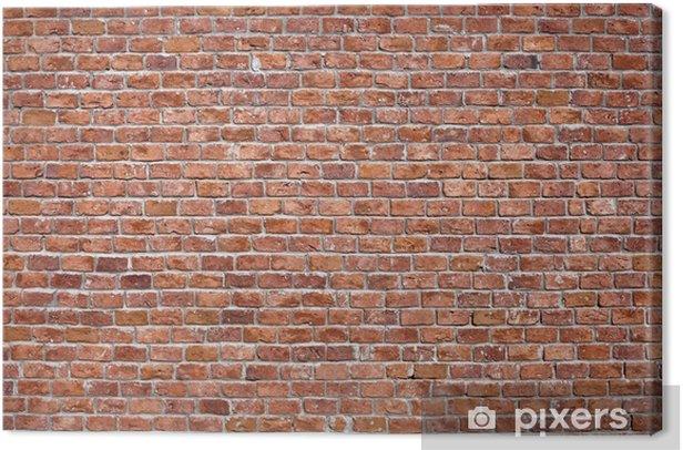 Brick Wall BAckground Canvas Print - Themes