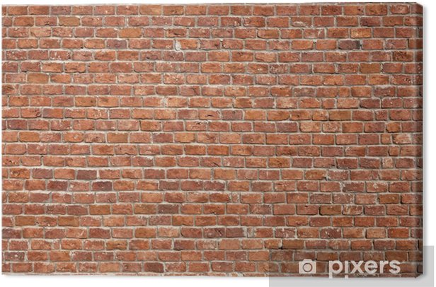 Brick Wall Background Canvas Print - Themes