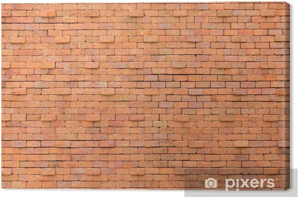 Brick wall Canvas Print - Backgrounds