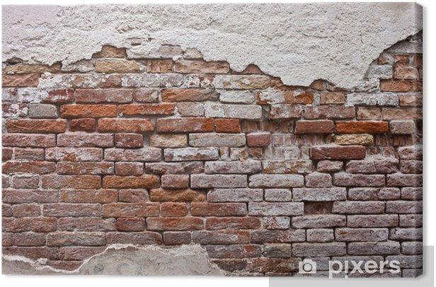 Brick wall Canvas Print -