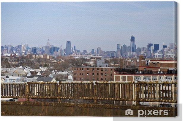 Bridge Corrosion Canvas Print - America