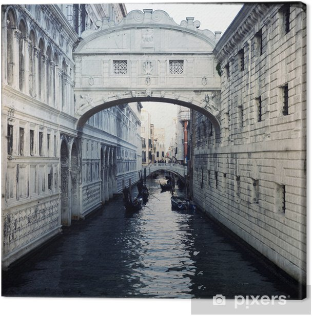 Bridge of Sighs - Venice Canvas Print - Themes
