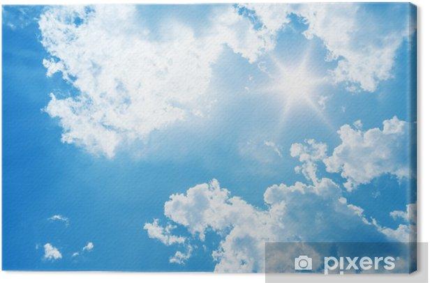 bright sun Canvas Print - iStaging