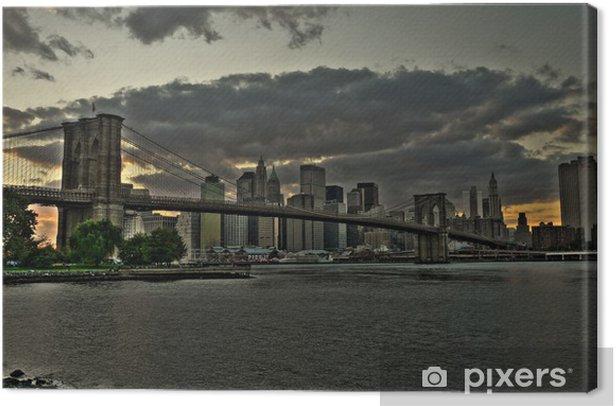 Brooklyn Bridge Canvas Print - Themes