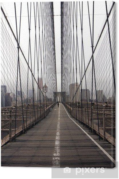 Brooklyn bridge Canvas Print -