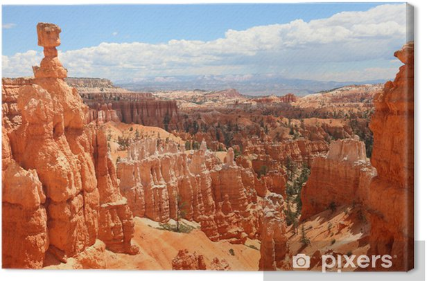 Bryce Canyon National Park landscape, Utah, USA Canvas Print - Themes