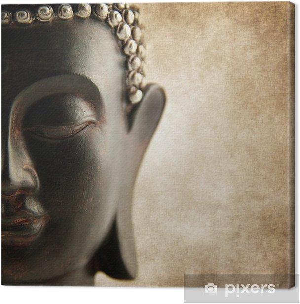 Buddha grunge style Canvas Print - Styles