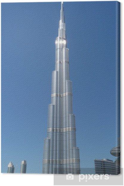 burj khalifa dubai Canvas Print - Themes