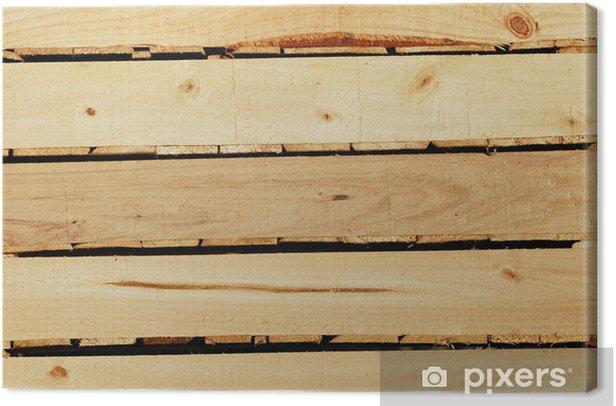 cagette en bois Canvas Print - Agriculture