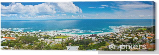 Cape Town city panoramic image Canvas Print - Themes