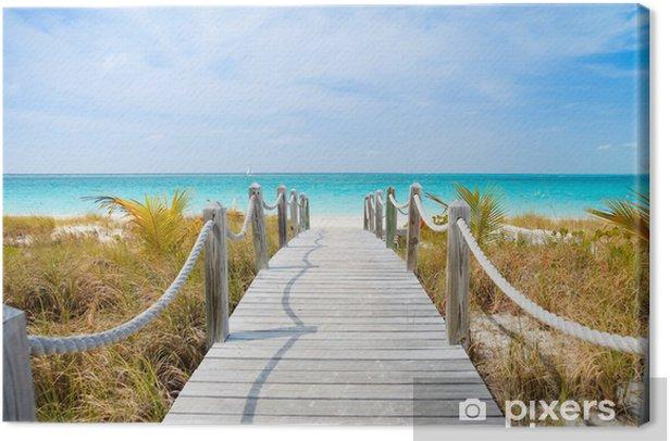 Caribbean beach Canvas Print - Themes