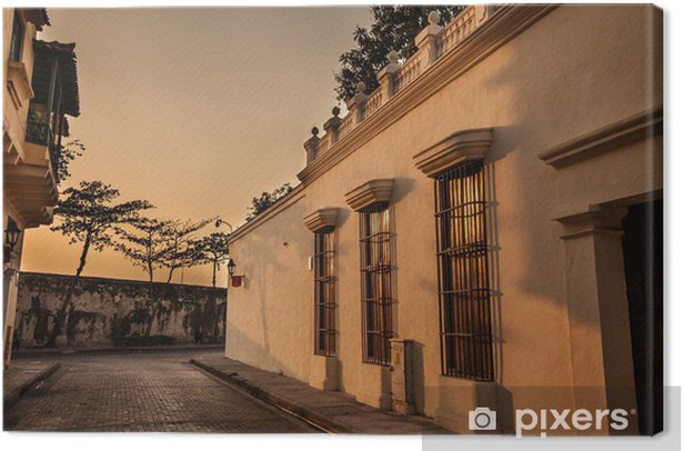 Cartagena Canvas Print - Urban
