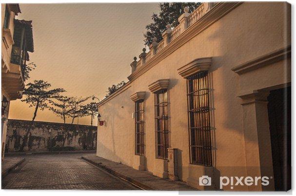 Cartagena Canvas Print - Urban